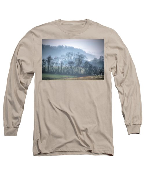 Foggy Hills Long Sleeve T-Shirt