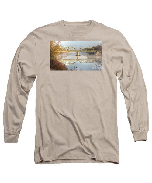Foggy Mornin' Bridge Long Sleeve T-Shirt