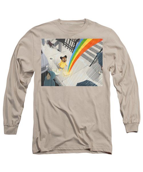 Follow Your Rainbow Long Sleeve T-Shirt