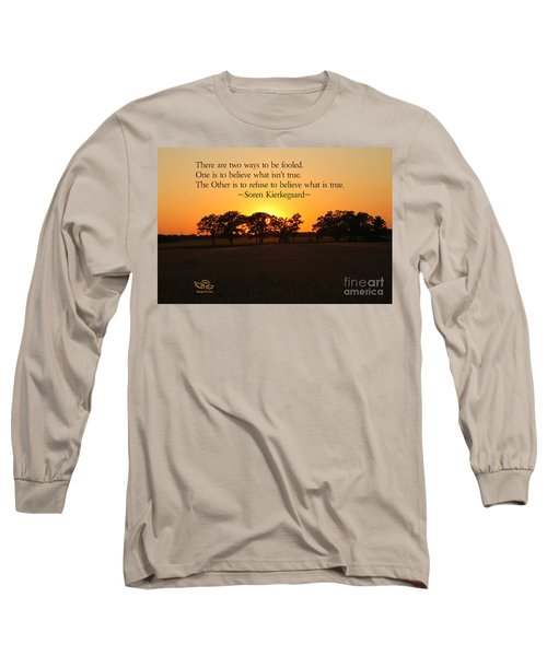 Fooled Long Sleeve T-Shirt