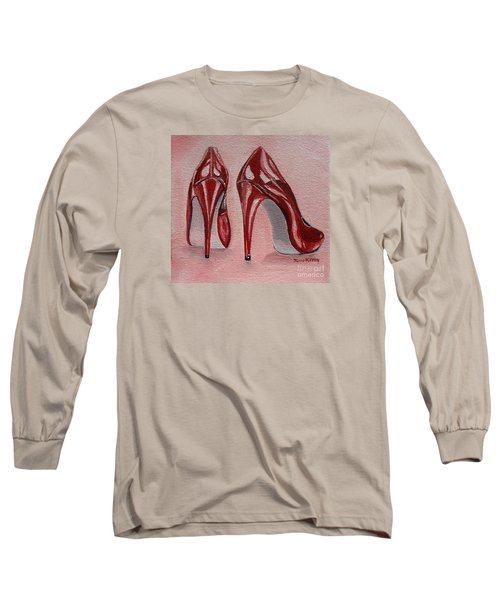 Foot Candy Long Sleeve T-Shirt by Julie Brugh Riffey