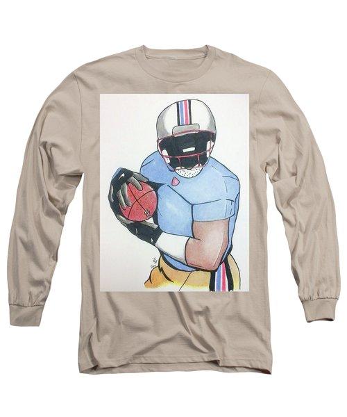 Football Player Long Sleeve T-Shirt