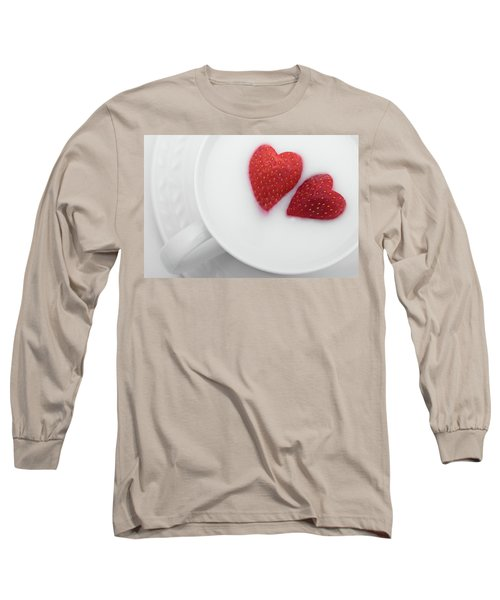 For Valentine's Day Long Sleeve T-Shirt