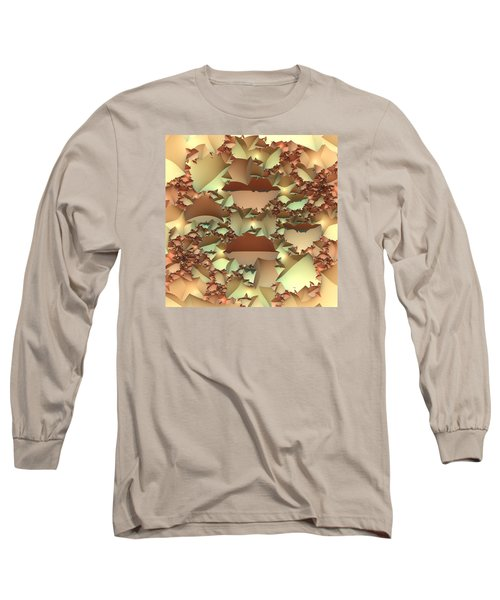 Long Sleeve T-Shirt featuring the digital art For Your Wall by Lyle Hatch