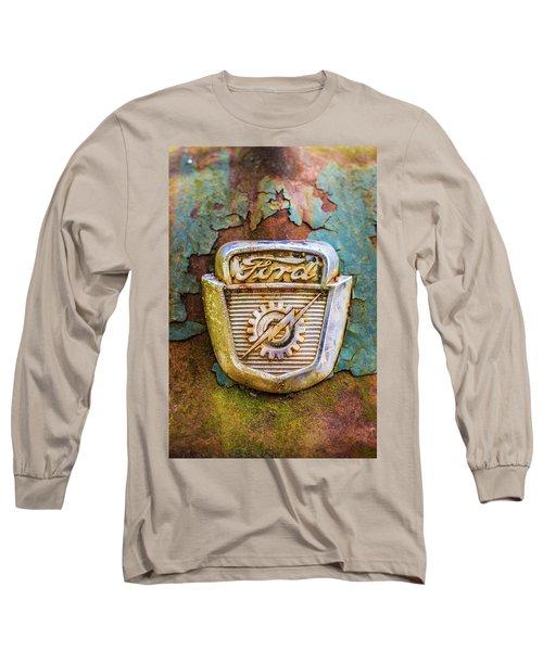 Ford Emblem Long Sleeve T-Shirt