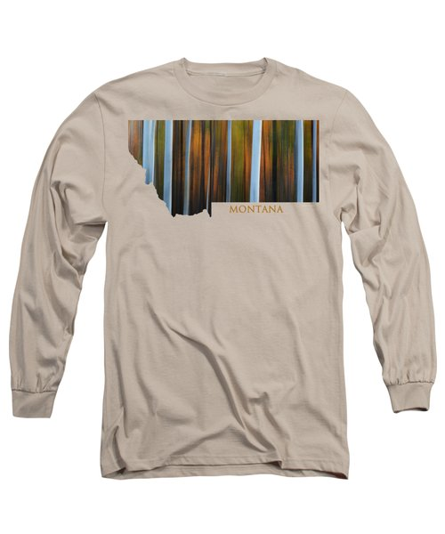 Forest Illusions-montana Long Sleeve T-Shirt