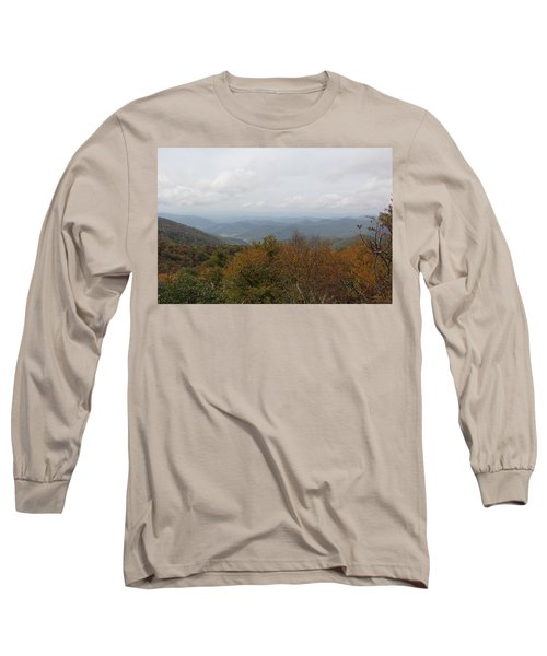 Forest Landscape View Long Sleeve T-Shirt