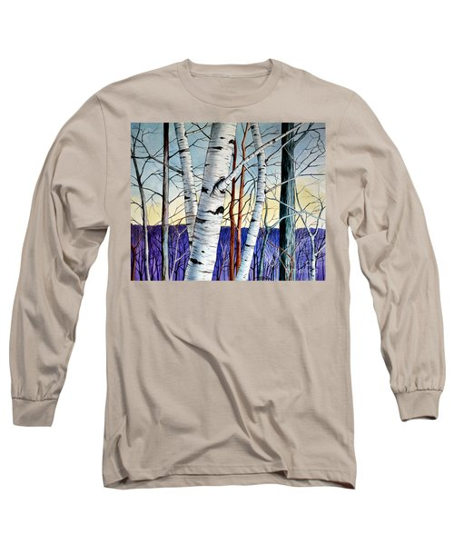 Forest Of Trees Long Sleeve T-Shirt