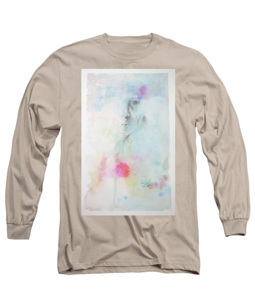 Long Sleeve T-Shirt featuring the painting Forlorn Me by Rachel Hames