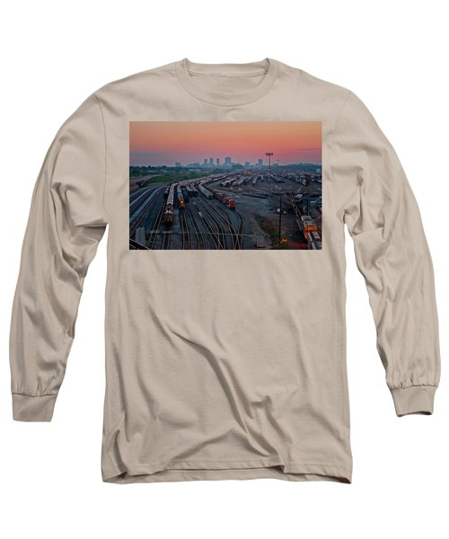Fort Worth Trainyards Long Sleeve T-Shirt