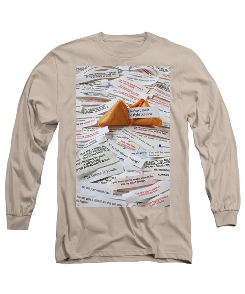 Fortune Cookie Sayings  Long Sleeve T-Shirt