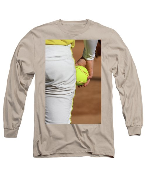 Four Seam Long Sleeve T-Shirt by Laddie Halupa