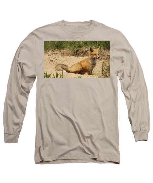 Fox In The Woods 2 Long Sleeve T-Shirt