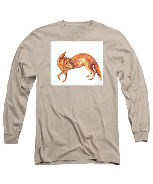 Fox Trot Long Sleeve T-Shirt by Tamyra Crossley