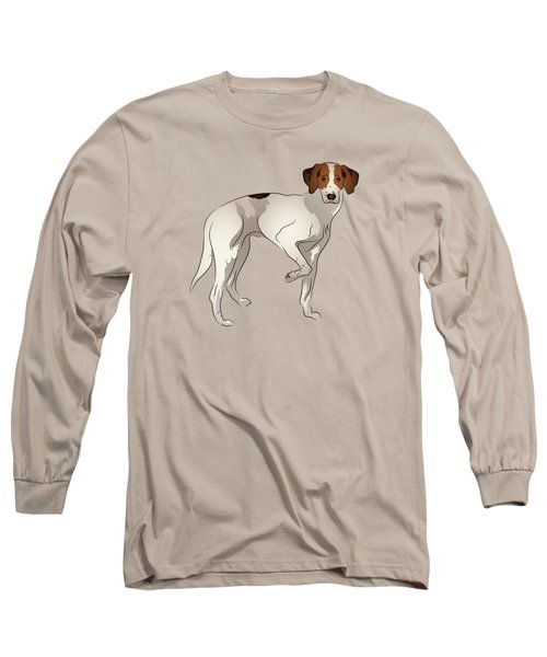 Foxhound Long Sleeve T-Shirt by MM Anderson