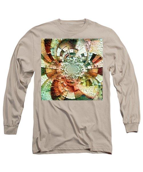 Fractal Abstract Long Sleeve T-Shirt