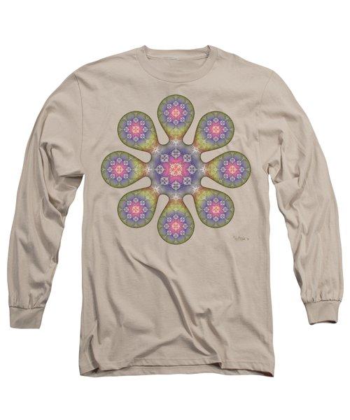 Fractal Blossom 1 Long Sleeve T-Shirt