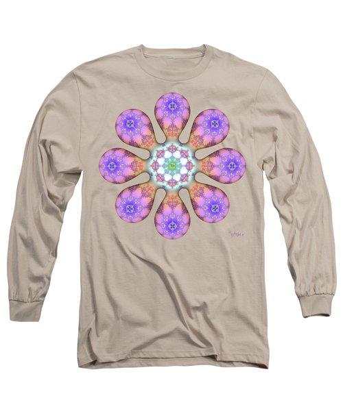 Fractal Blossom 2 Long Sleeve T-Shirt