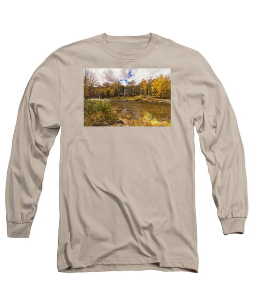 Franconia Iron Works Long Sleeve T-Shirt by Anthony Baatz
