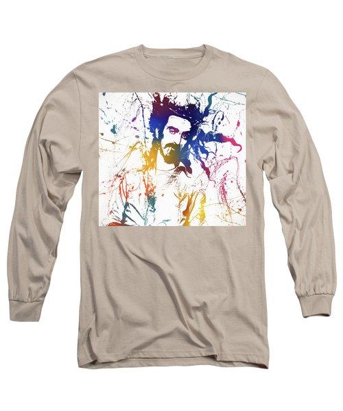 Frank Zappa Splatter Long Sleeve T-Shirt