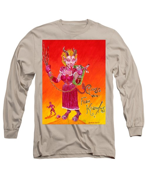 Frau Krampus Long Sleeve T-Shirt