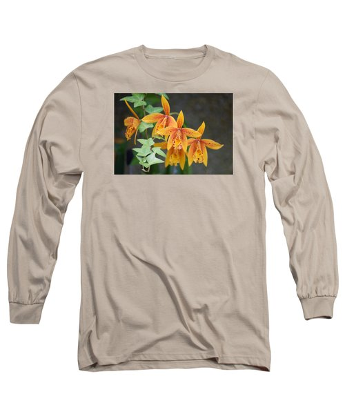Long Sleeve T-Shirt featuring the photograph Freckled Flora by Deborah  Crew-Johnson