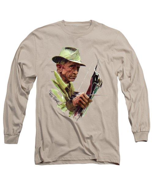 Fred Bear Archery Hunting Bow Arrow Sport Target Long Sleeve T-Shirt