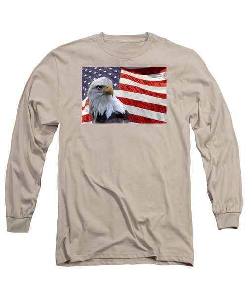 Long Sleeve T-Shirt featuring the photograph Freedom by Ann Bridges