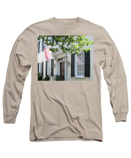 Freedom Reflected Long Sleeve T-Shirt by Ed Waldrop