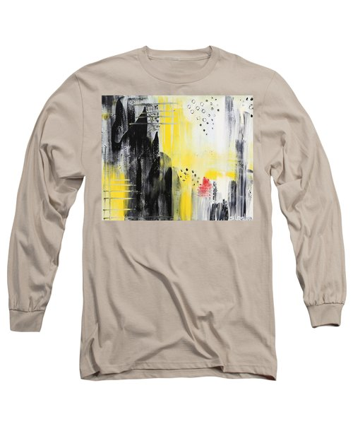 Long Sleeve T-Shirt featuring the painting Freedom by Sladjana Lazarevic