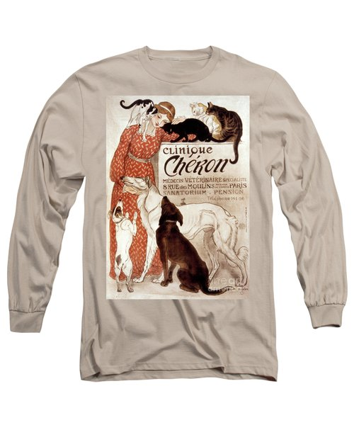 French Veterinary Clinic Long Sleeve T-Shirt