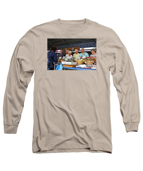 Fresh Breads Long Sleeve T-Shirt by Allan Levin
