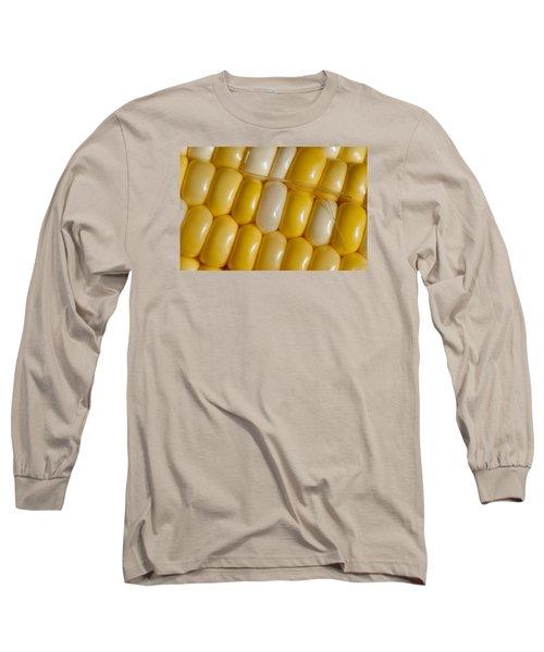 Fresh Yellow Corn Long Sleeve T-Shirt