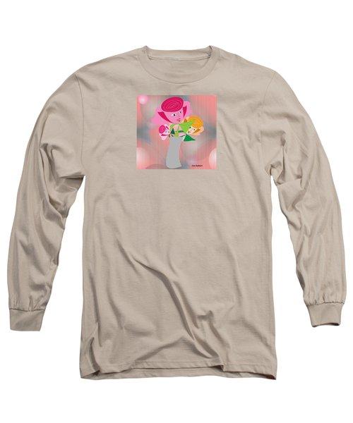 Friendly Flowers Long Sleeve T-Shirt