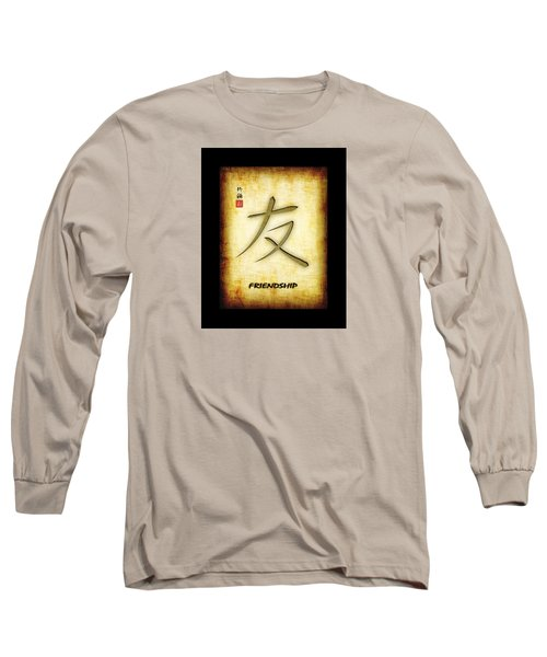 Friendship  Long Sleeve T-Shirt by John Wills