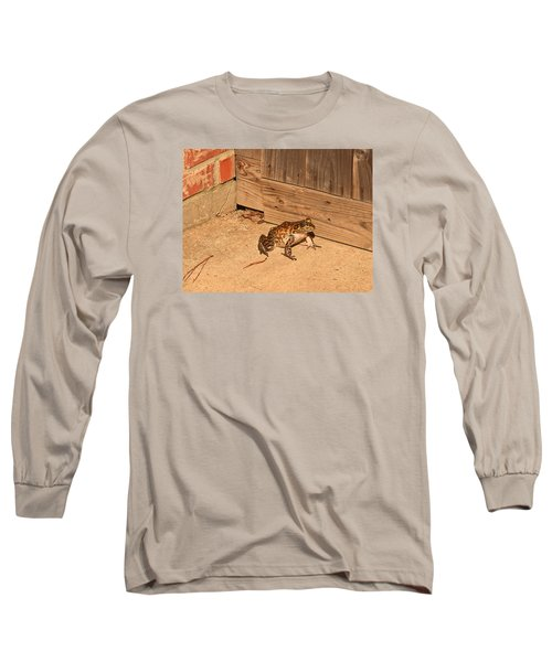 Frog Long Sleeve T-Shirt by Ronald Olivier