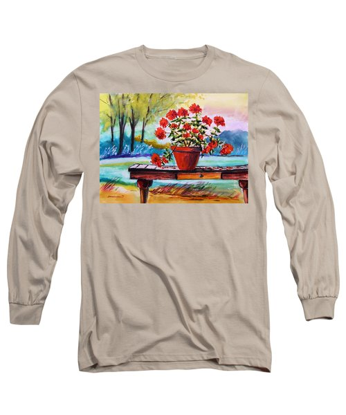 From The Potting Shed Long Sleeve T-Shirt by John Williams