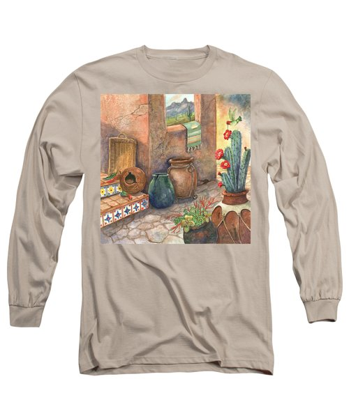 Long Sleeve T-Shirt featuring the painting From This Earth by Marilyn Smith
