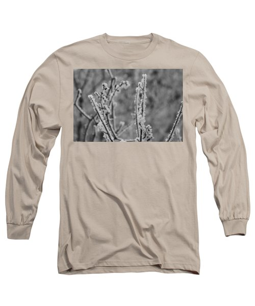 Long Sleeve T-Shirt featuring the photograph Frost 1 by Antonio Romero