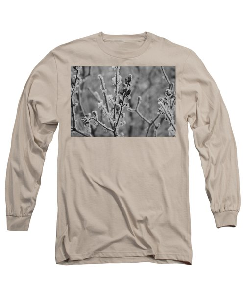 Long Sleeve T-Shirt featuring the photograph Frost 5 by Antonio Romero