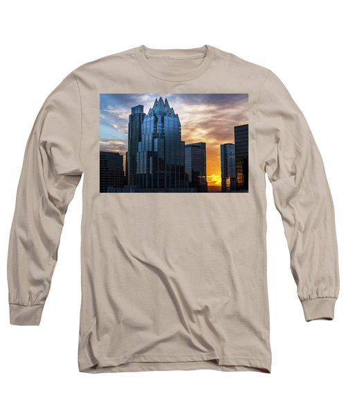 Frost Bank Tower Long Sleeve T-Shirt