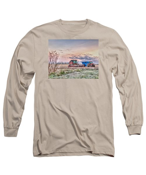 Frosty Farm Morning Long Sleeve T-Shirt