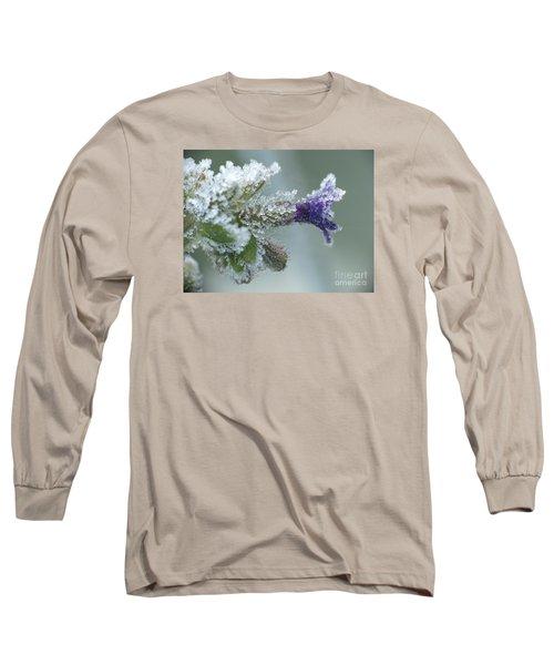 Frosty Flower Long Sleeve T-Shirt