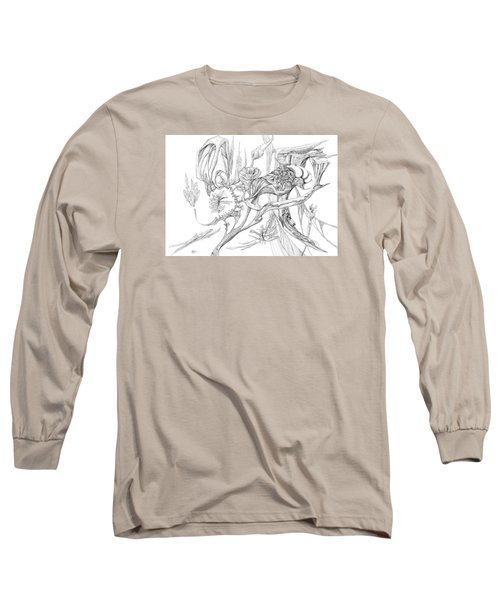 Frozen In Time Long Sleeve T-Shirt by Charles Cater