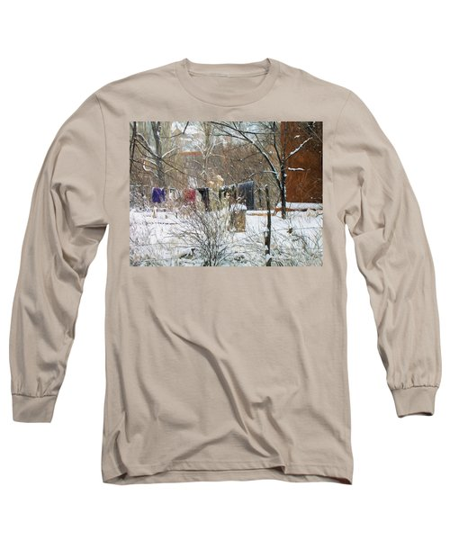 Frozen Laundry Long Sleeve T-Shirt