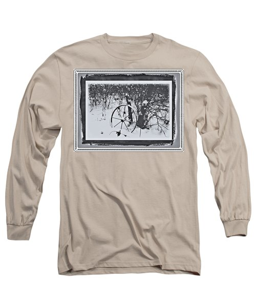 Long Sleeve T-Shirt featuring the photograph Frozen In Time by Cathy Harper