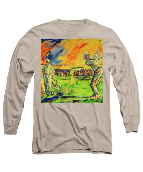 Fruehen Morgen Spiel   Early Morming Game Long Sleeve T-Shirt by Koro Arandia
