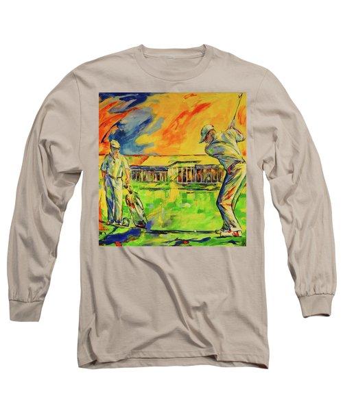 Fruehen Morgen Spiel   Early Morming Game Long Sleeve T-Shirt