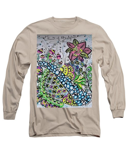 Fruit Of The Spirit Long Sleeve T-Shirt