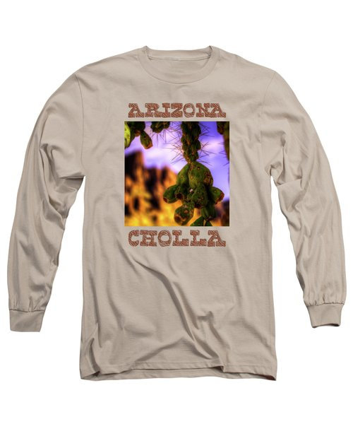 Fruit Of The Teddy Bear Cholla Long Sleeve T-Shirt